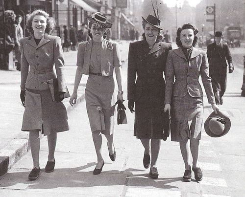 – At Hvordan Klæde Til 1940'erne Wkadk I Amerikansk Mode OHqTH1