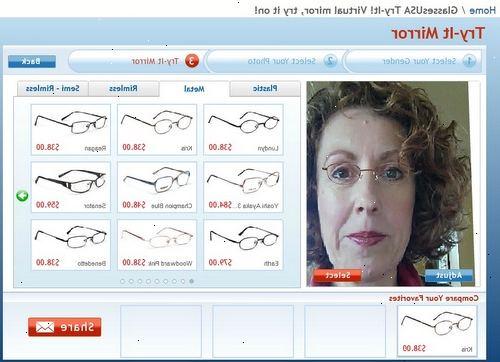 107568260c90 Hvordan til at vælge briller. Kig efter ovale eller runde rammer