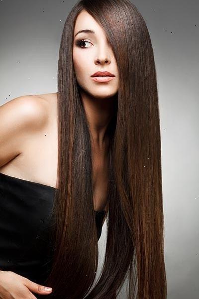 glat hår uden varme