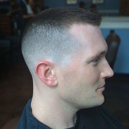 hvordan klipper man hår med trimmer