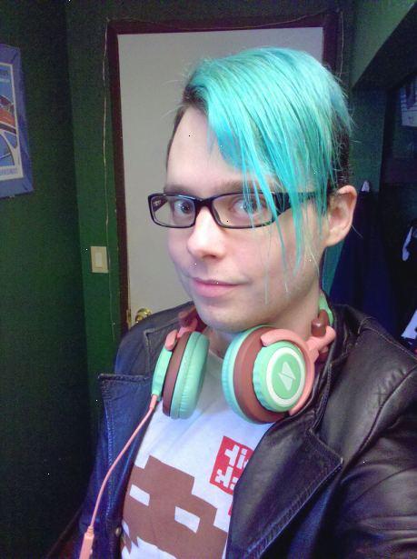 undgå grønt hår ved farvning
